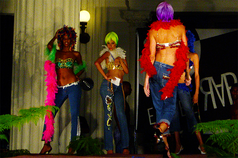 Exuberarte fashion show
